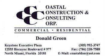 ☎ CODE VIOLATION PROBLEMS? FINES & LIENS? CALL DON GREEN 305-992-3747