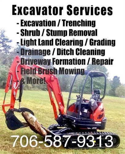 Brush Clearing Grading Landscaping