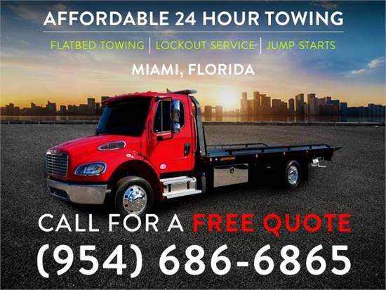 Low Cost Towing Service (954) 686-6865
