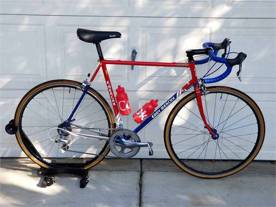 1988 Eddy Merckx Corsa Extra Columbus SLX Chris King Thomson Dura-ace