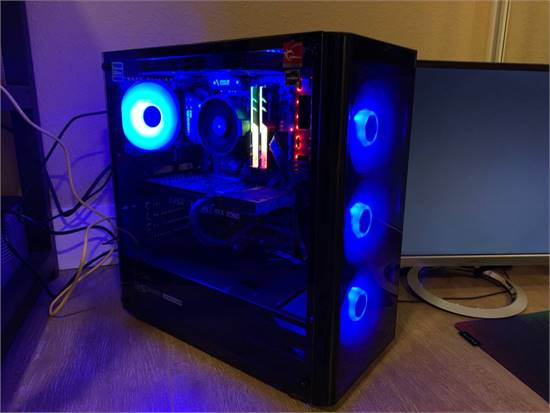 Gaming PC - Ryzen 5 3600 - GEFORCE RTX 2060 - RGB - Samsung EVO M.2