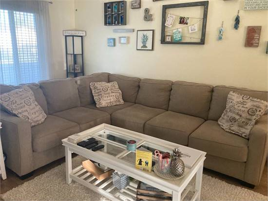 Beige Sectional IKEA Couch