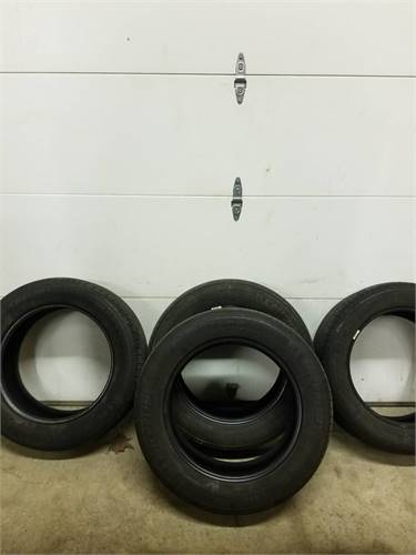 4 used tires 235 55 17