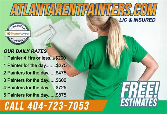 Atlanta Pro Painters | LICENSED LOW COST PAINTING