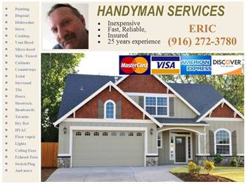 ATTENTION - PROPERTY MANAGERS & INVESTORS - HANDYMAN