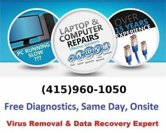 🔴 Computer Repair, Virus Removal, Data Recovery, Printer Setup TODAY