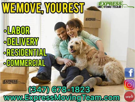 🚚 MOVING - DELIVERY 📦 & LABOR SERVICES 💪