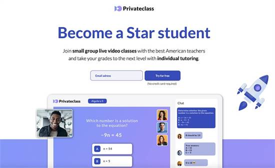UNLIMITED live video classes with US certified teachers