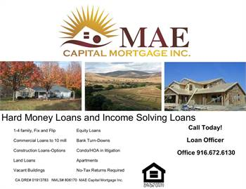 MONEY TO LEND FOR RESIDENTIAL, REHABS, COMMERCIAL PROPERTY AND LAND