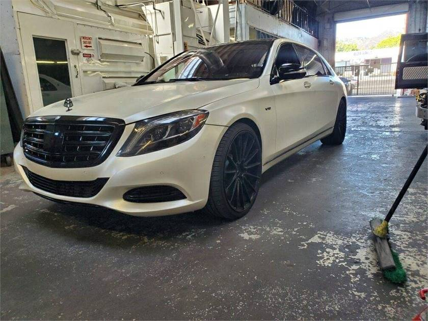 Maybach S600 V12 Takeover Payments